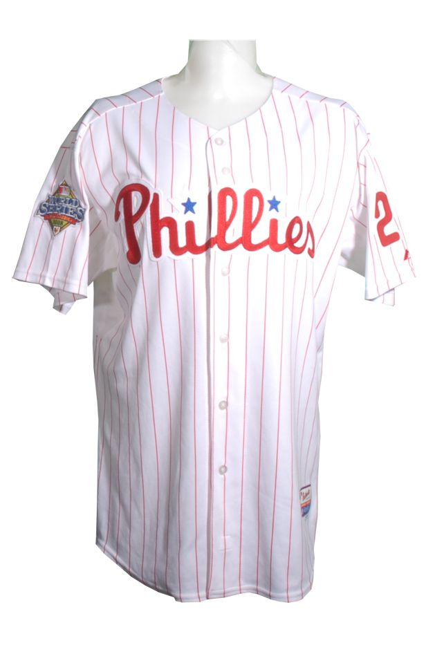 Lot Detail - 2008 Chase Utley Autographed Game Used World Series Jersey b9cdd6b9b31