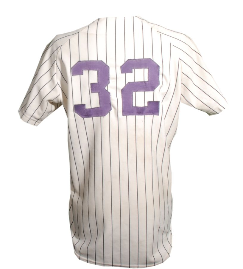 Lot Detail - 1976 Elston Howard Game Used New York Yankees Jersey 43614be9477