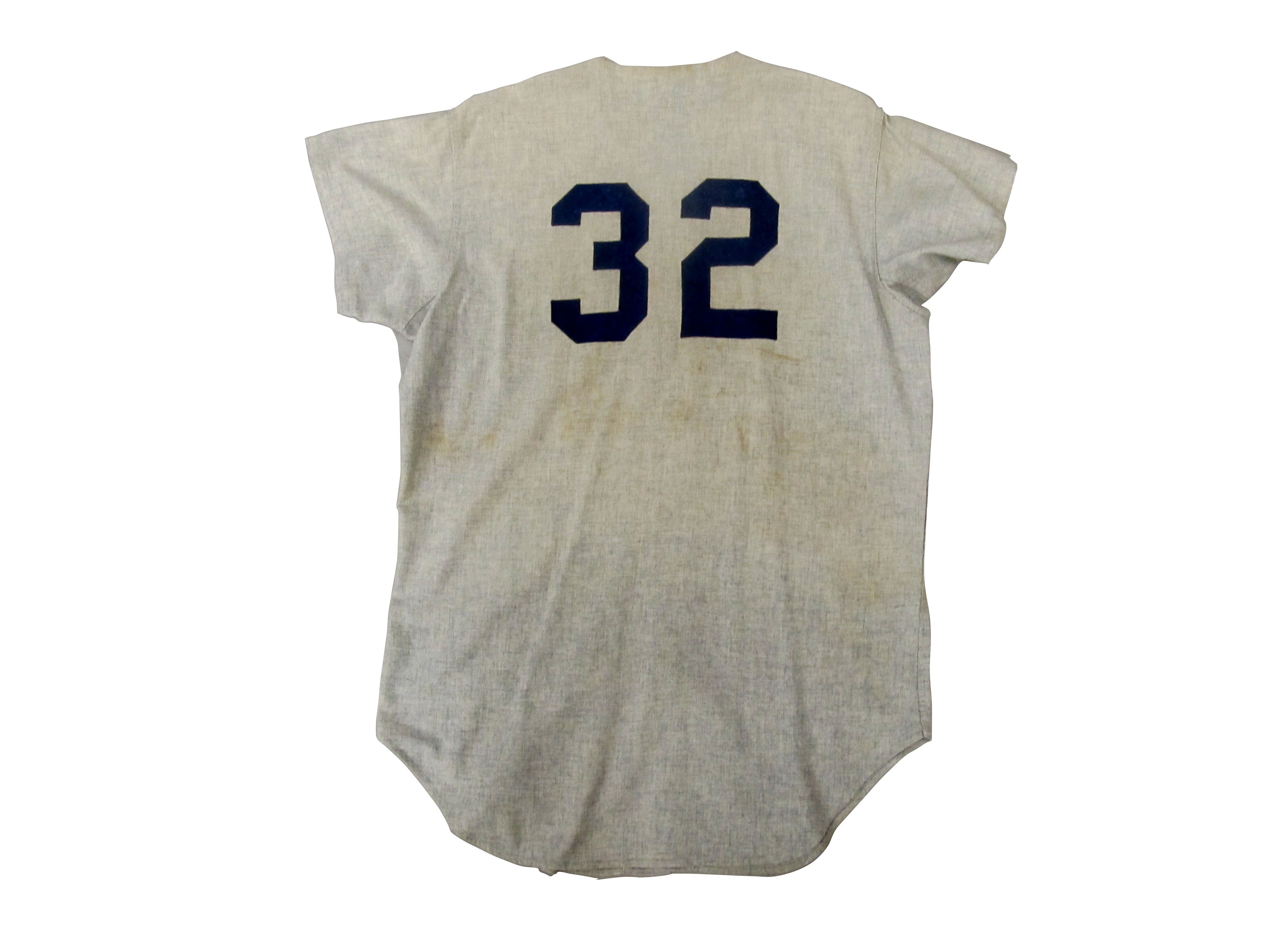 Lot Detail - 1970 Elston Howard New York Yankees Game Used Jersey 6aeffd27bfe