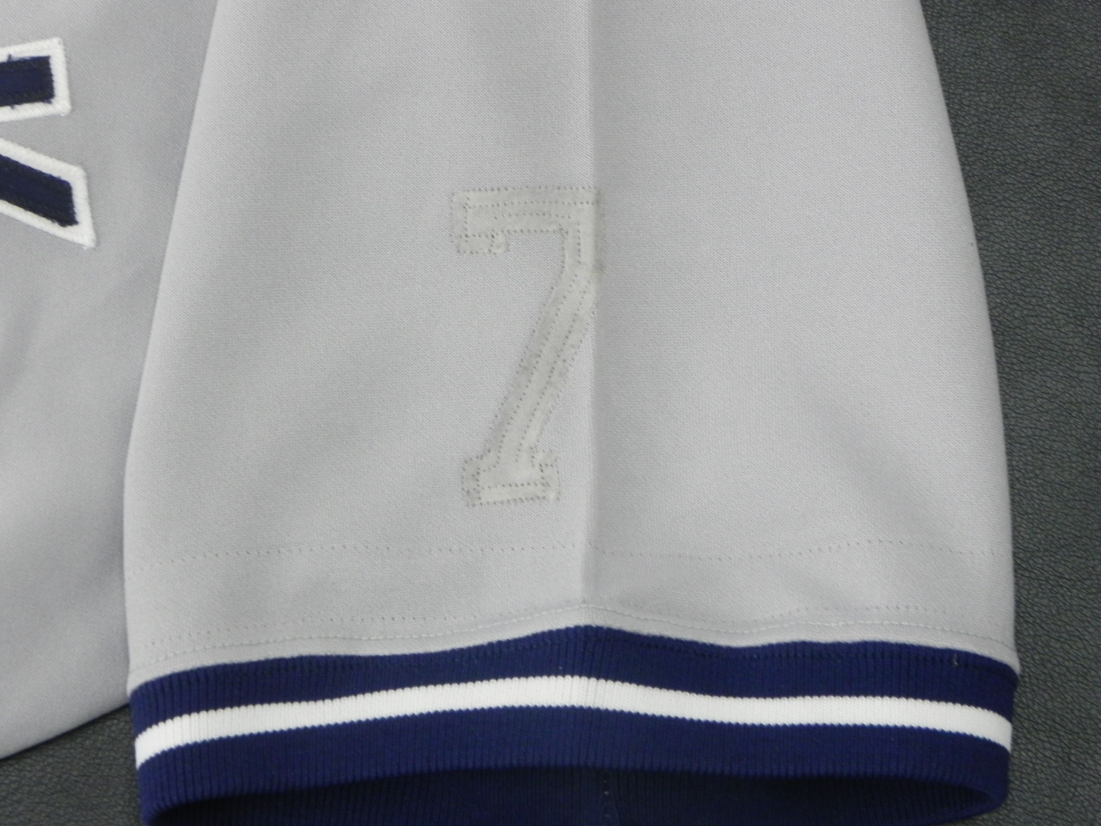 eb759ad00 Lot Detail - 1995 Bernie Williams Game Used New York Yankees Jersey