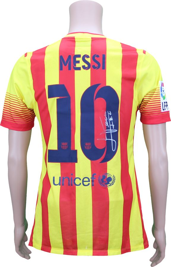 new style aec8a ab1cd Lot Detail - 2014 Lionel Messi #10 FC Barcelona Match Worn ...