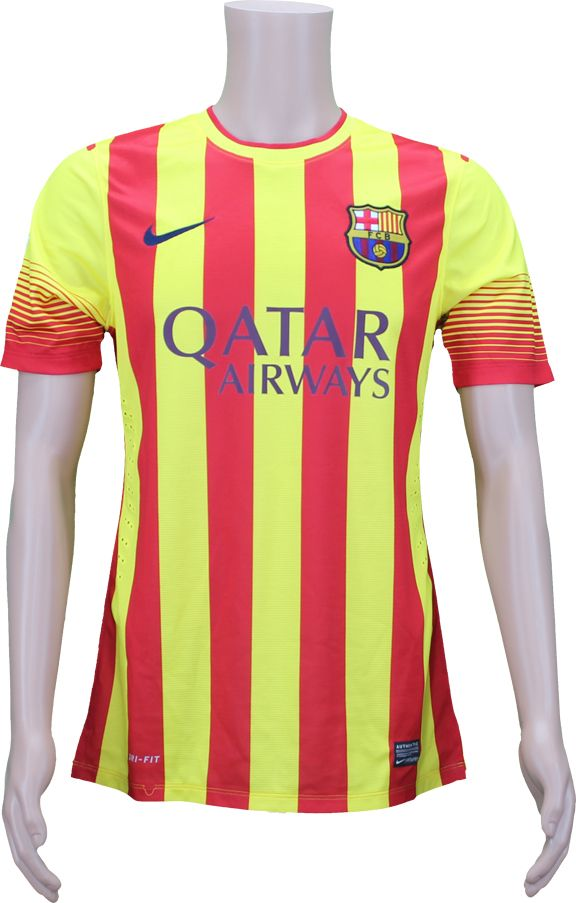 a1a8d9391 Lot Detail - 2014 Lionel Messi  10 FC Barcelona Match Worn Signed Jersey