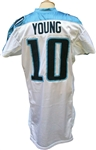 2006 Vince Young Rookie Game Used Tennesse Titans Jersey