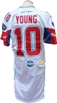 2007 Vince Young Game Used First Pro Bowl Uniform (2) Photo Matched