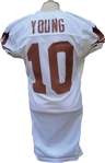2004 Vince Young Game Used Texas Longhorns Jersey