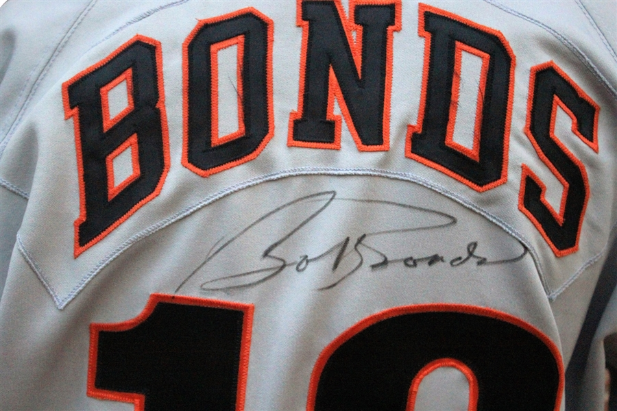 1994 Bobby Bonds Autographed Game Used Jersey