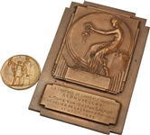 1912 Stockholm Team Olympics Gold Medal with Bronze Plaque Awarded to Gaston Salom