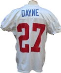 2003 Ron Dayne Game Used Practice Jersey NY Giants LOA