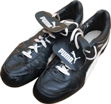 Circa 1986 Roger Clemens Game Used Puma Cleats