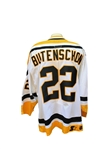 Circa 1998 Sven Butenschon Game Used Pittsburg Penguins Jersey MeiGray LOA