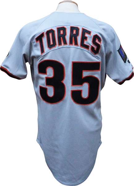 1994 Salomón Torres Game Used San Francisco Giants Jersey