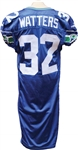 2000 Ricky Watters Game Used Seattle Seahawks Jersey