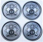 "1999 ""The Equitable"" Old Timers Series Coaster Sets (4)"