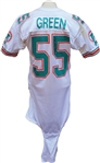 1989 Hugh Green Game Used Miami Dolphins Jersey