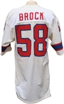 1981 Pete Brock Game Used New England Patriots Jersey