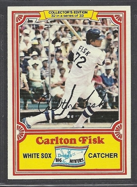 1981 Carlton Fisk Game Used Chicago White Sox Jersey (Rare Softball Style)