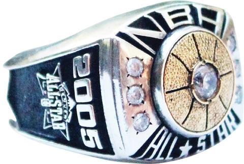 2005 Dwyane Wade NBA All Star Game Ring – His First ASG – LOA from Wade's Ex-Wife