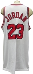 1997/98 MICHAEL JORDAN NBA FINALS ISSUED/PRO CUT JERSEY
