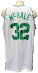 1992/93 KEVIN MCHALE AUTOGRAPHED BOSTON CELTICS GAME USED JERSEY