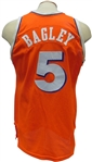 1983 JOHN BAGLEY GAME USED CLEVELAND CAVALIERS ROOKIE ERA JERSEY