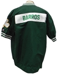 1995/96 DANA BARROS GAME USED WORN BOSTON CELTICS ROAD WARMUP