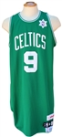 2008/09 RAJON RONDO BOSTON CELTICS SPECIAL EDITION CHRISTMAS DAY GAME USED JERSEY MEIGRAY