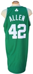 12/25/08 TONY ALLEN BOSTON CELTICS GAME USED CHRISTMAS DAY JERSEY