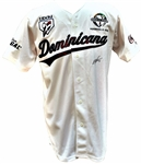 2013 MIGUEL TEJADA SIGNED DOMINICAN REPUBLIC SERIE DEL CARIBE GAME USED JERSEY