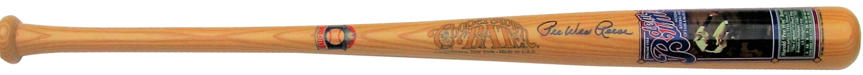 PEE WEE REESE COOPERSTOWN BAT COMPANY LIMITED EDITION DEM BUMBS SIGNED BAT