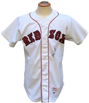 1985 WADE BOGGS BOSTON RED SOX SIGNED GAME USED JERSEY