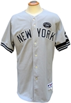 2010 ALEX RODRIGUEZ NEW YORK YANKEES GAME USED JERSEY