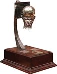 REAL MADRID 50TH ANNIVERSARY STERLING SILVER BASKETBALL TROPHY