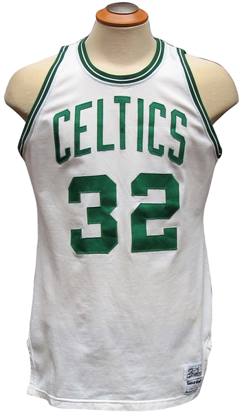 CIRCA 1985 KEVIN McHALE BOSTON CELTICS GAME USED JERSEY