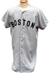 1960 HAYWOOD SULLIVAN BOSTON RED SOX GAME USED JERSEY
