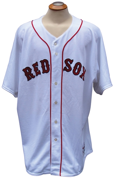 2007 WILY MO PENA BOSTON RED SOX WORLD SERIES SEASON GAME USED JERSEY MLB