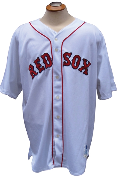 1996 ROGER CLEMENS BOSTON RED SOX GAME USED JERSEY