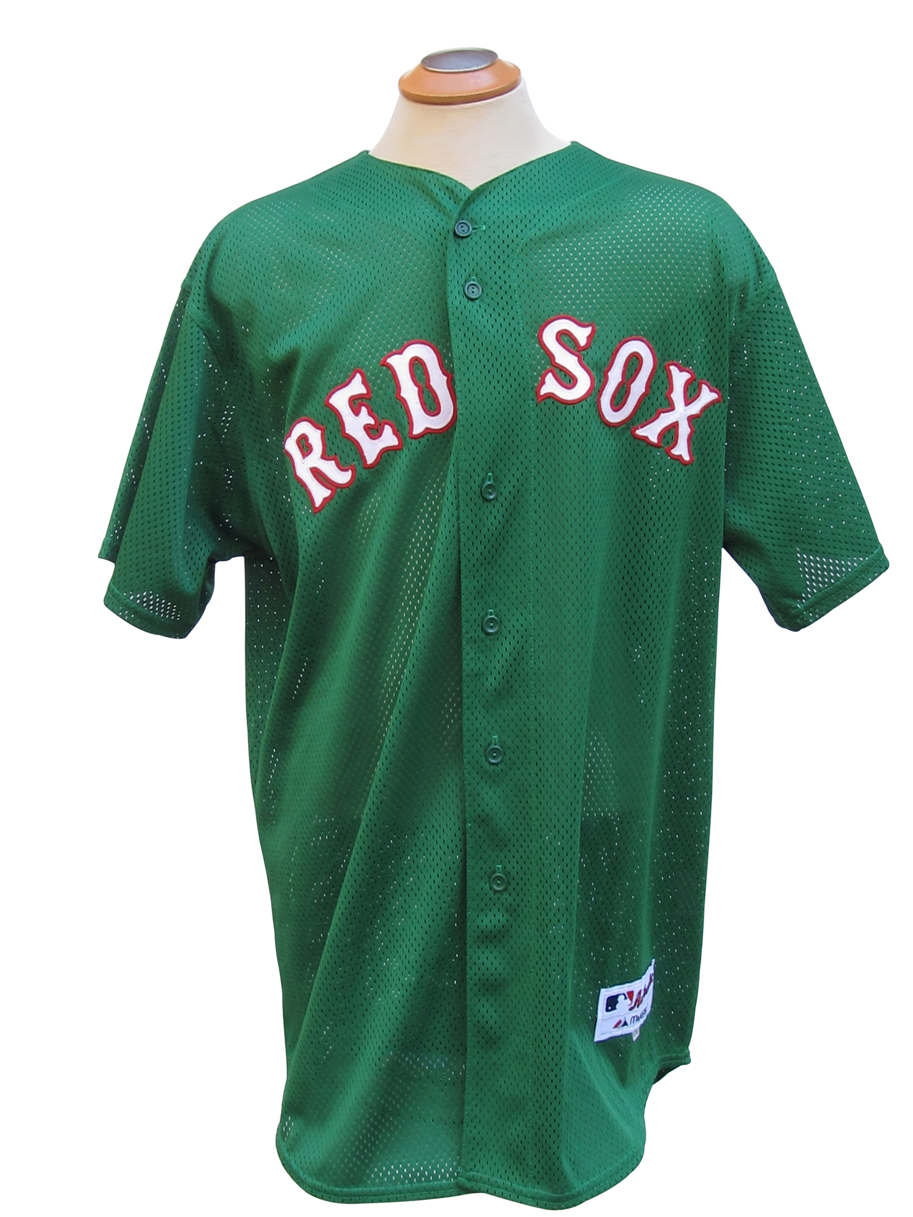 1dc24aef4f7 2007 DOUG MIRABELLI BOSTON RED SOX WORLD SERIES SEASON GAME USED JERSEY ...