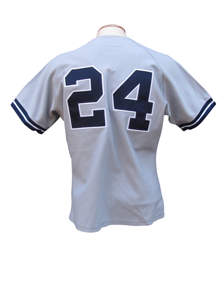 1989 RICKEY HENDERSON NEW YORK YANKEES GAME USED JERSEY