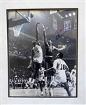 WILT CHAMBERLAIN AND BILL RUSSELL SIGNED PHOTOGRAPH