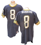 CIRCA 1976 ARCHIE MANNING NEW ORLEANS SAINTS GAME USED JERSEY