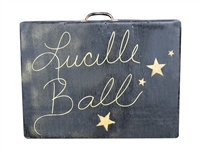 LUCILLE BALL SUITCASE USED IN THE SHOW WHEN SHE WENT TO CUBA