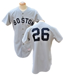 1984 WADE BOGGS BOSTON RED SOX GAME USED JERSEY