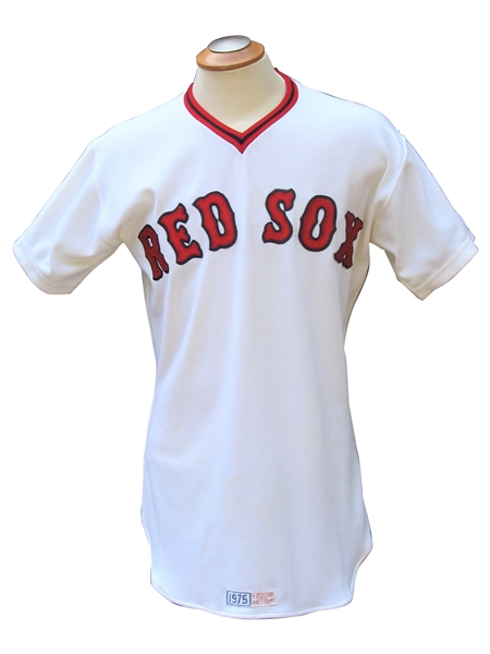 ROOKIE 1975 JIM RICE BOSTON RED SOX GAME USED JERSEY