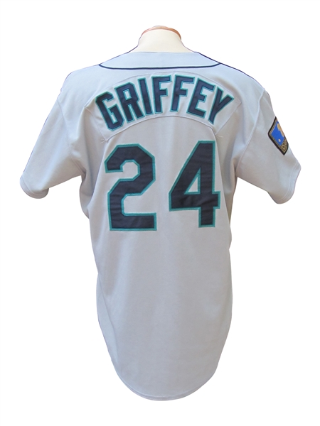 1994 KEN GRIFFEY JR. SEATTLE MARINERS GAME USED JERSEY