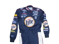 2002 RUSTY WALLACE SIGNED NASCAR RACE USED SUIT LOA