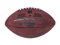 NICK FOLES 7 TOUCHDOWN GAME USED FOOTBALL