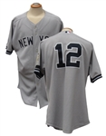 "2008 IVAN ""PUDGE"" RODRIGUEZ NEW YORK YANKEES GAME JERSEY"