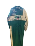 HARRY GANT SIGNED NASCAR RACE USED DRIVER SUIT