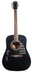 MELISSA ETHERIDGE SIGNED ACOUSTIC FENDER GUITAR