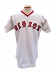 1978 DENNIS ECKERSLEY BOSTON RED SOX GAME USED JERSEY